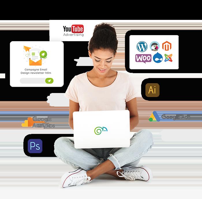 Agence Marketing digital en Guadeloupe Martinique Guadeloupe. Création graphique, Marketing digital, Creation de site Web,E-commerce, Application android, apple, Motion design, community management et bien plus.
